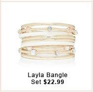 Layla Bangle Set.