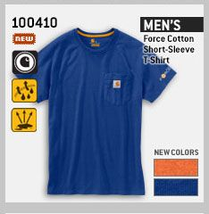 MEN'S FORCE COTTON SHORT-SLEEVE T-SHIRT