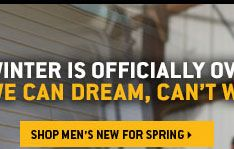 SHOP MEN'S NEW FOR SPRING