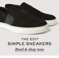 The Edit: Simple Sneakers. Read & shop now