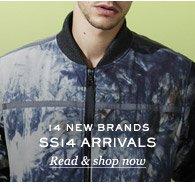 14 New Brands: SS14 Arrivals. Read & shop now