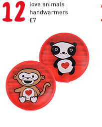 love animals handwarmers
