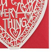 my everything heart valentine's card