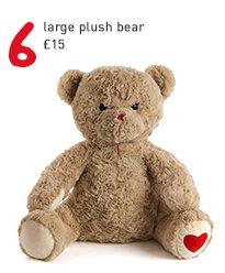 large plush bear