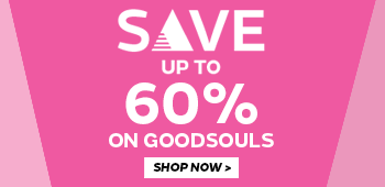Save up to 60% off Goodsouls