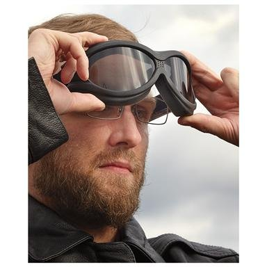 2-Pk. of BigBen™ Over Glasses Polycarbonate Goggles