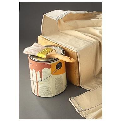 3-Pk. of 3M™ 4x7' Canvas Dropcloths