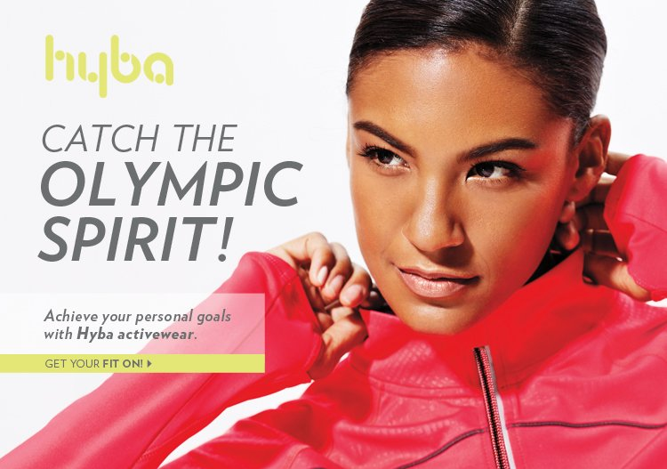 Achieve your personal goals with Hyba activewear.