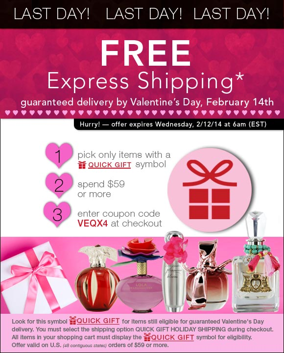 Last Day - EXPRESS (ship) Your Love - Guaranteed by Valentine's Day