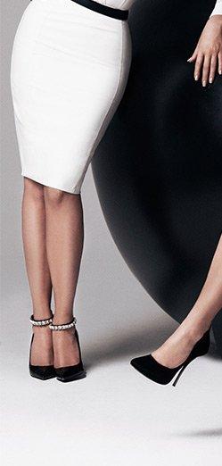 Kardashian Zip Pencil Skirt