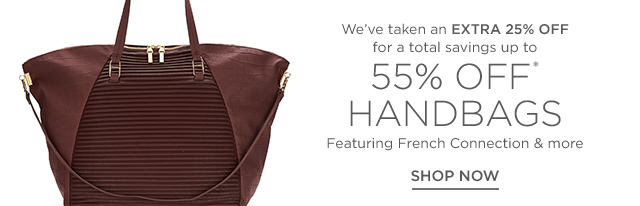 Up to 55% off Handbags