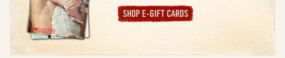 SHOP E–GIFT CARDS
