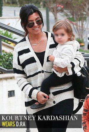Kourtney Kardashian in d.RA