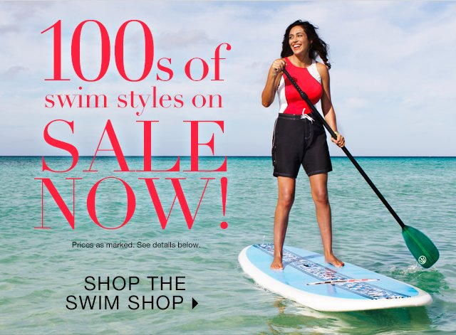Hundreds of Swim Styles on Sale Now