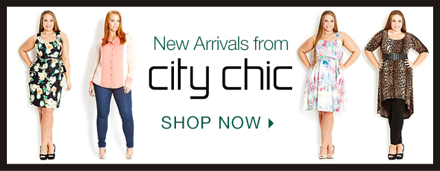 Shop New Arrivals by City Chic!