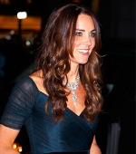 Kate Middleton Borrows the Family Jewels