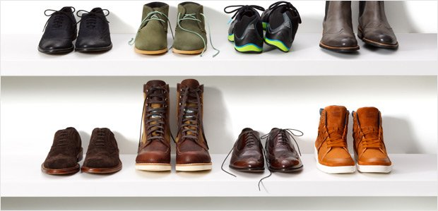 The Shoe Rush: Hundreds of Steals for Men