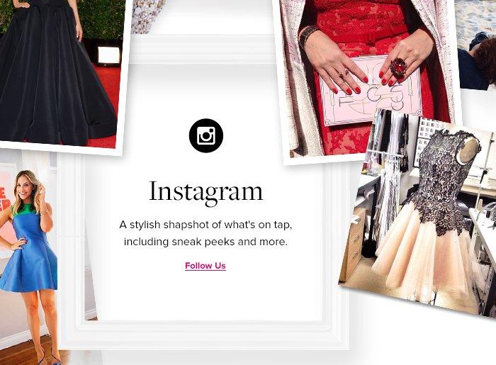 Instagram - Follow Us