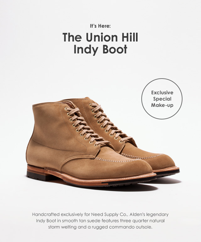 It's Here: The Union Hill Indy Boot
