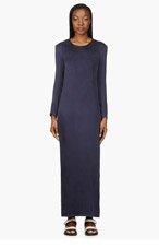 AVELON Purple Silk Knotted Zip Dress for women