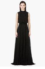ZUHAIR MURAD Black beaded & layered Gown for women