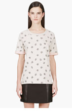 MARC BY MARC JACOBS Heather Grey Playing Cards Sweatshirt for women