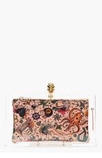 CHARLOTTE OLYMPIA Transparent Pandora Perspex Clutch for women