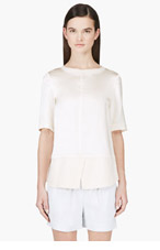 MARC BY MARC JACOBS Nude Silk Julee Blouse for women