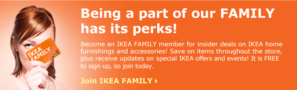 Being a part of our IKEA FAMILY has its perks!