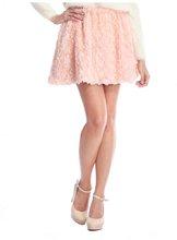 Faux Roses Skirt