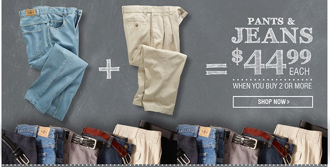 Pants & Jeans Mix and Match