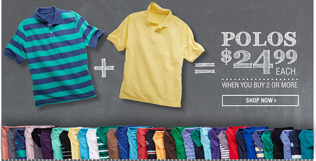 Pique Polo Mix and Match