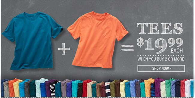 Tees Mix and Match
