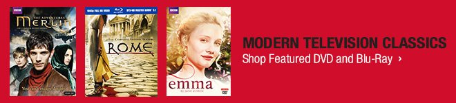 Modern Television Classics - Shop Featured DVD and Blu-ray