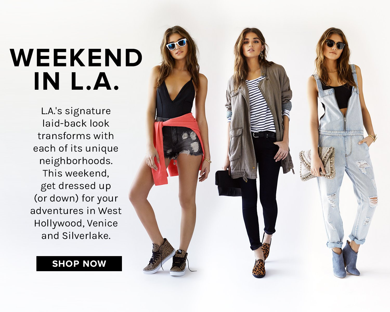 Weekend Essentials: Ready for the weekend in Acne, DSQuared, 3.1 Phillip Lim + more
