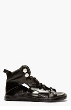 KTZ LACE UP OPEN TOE TRAINERS - STUDS A for men