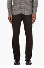 JUNYA WATANABE Black Panelled Levi's Edition Jeans for men