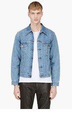 LEVIS VINTAGE CLOTHING Blue Denim 1970'S TRUCKER Jacket for men