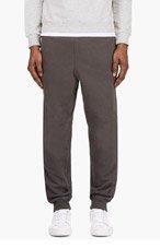 T BY ALEXANDER WANG Grey minimalist Lounge PANTS for men