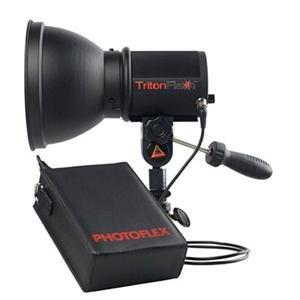 Adorama - Photoflex TritonFlash Kit, 300 W/s Strobe Head & Lithium-ion Battery Pack,