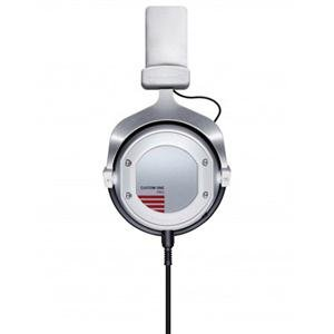 """Adorama - Beyerdynamic Custom One Pro Closed Headphones with Single-Sided Cable, 16 Ohms, 5-35000Hz Frequency Response, 3.5 mm Plug with 1/4"""" Adapter, White"""