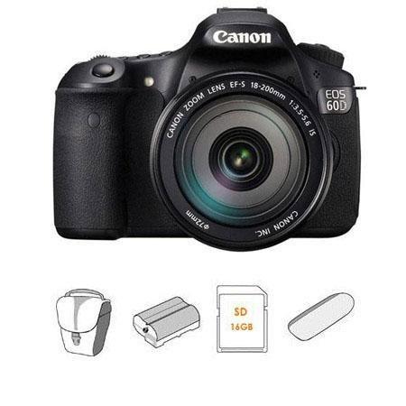 Adorama - Canon EOS 60D DSLR Camera Bundles