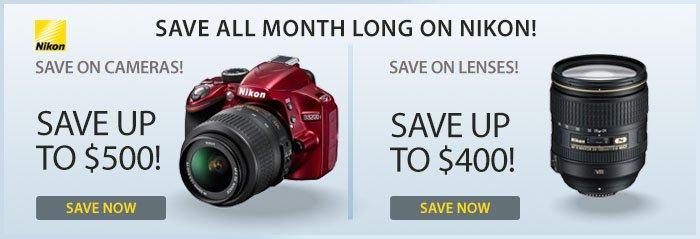 Adorama - Save On Nikon Cameras & Lenses!