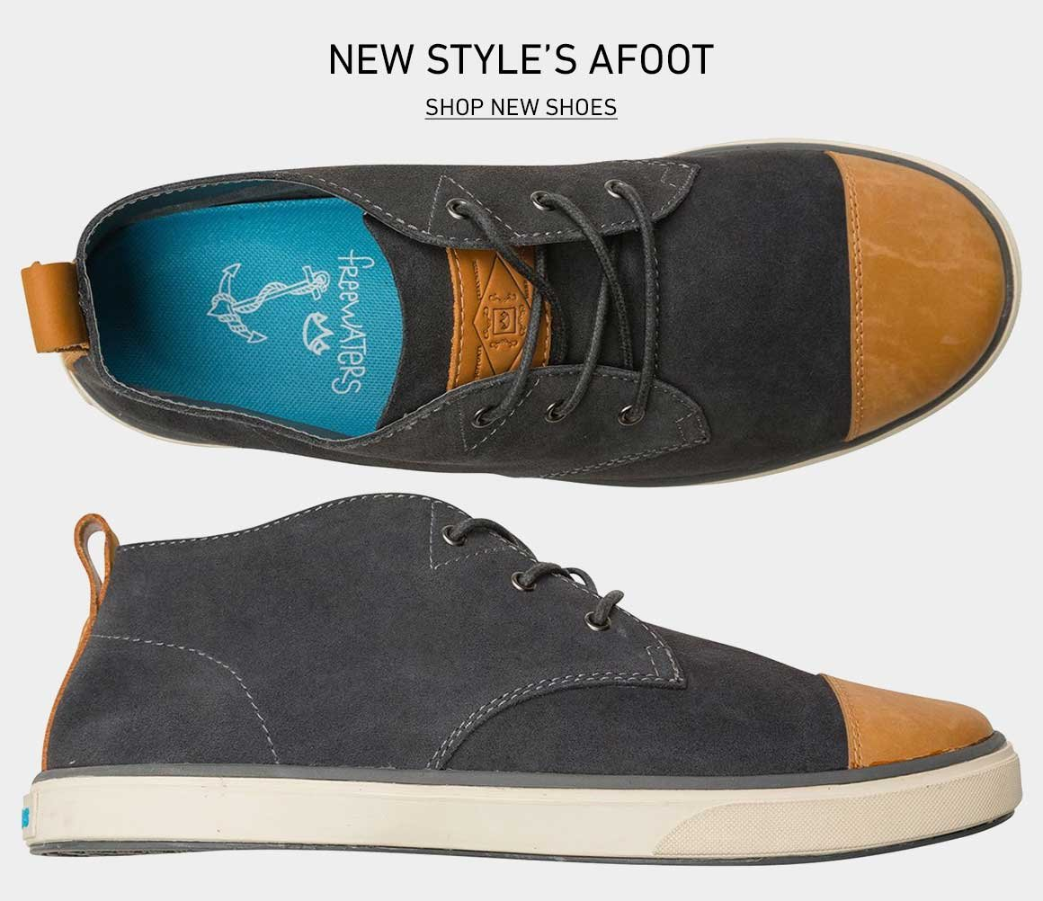 New Style's Afoot: Shop New Shoes