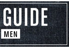 Shop Mens Denim Guide