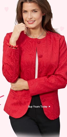 Buy Your Jacquard Jacket Today