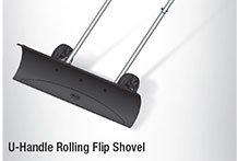 U-Handle Rolling Flip Shovel