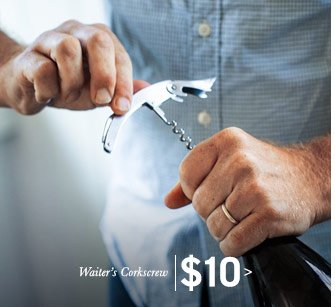 Waiter's Corkscrew $10