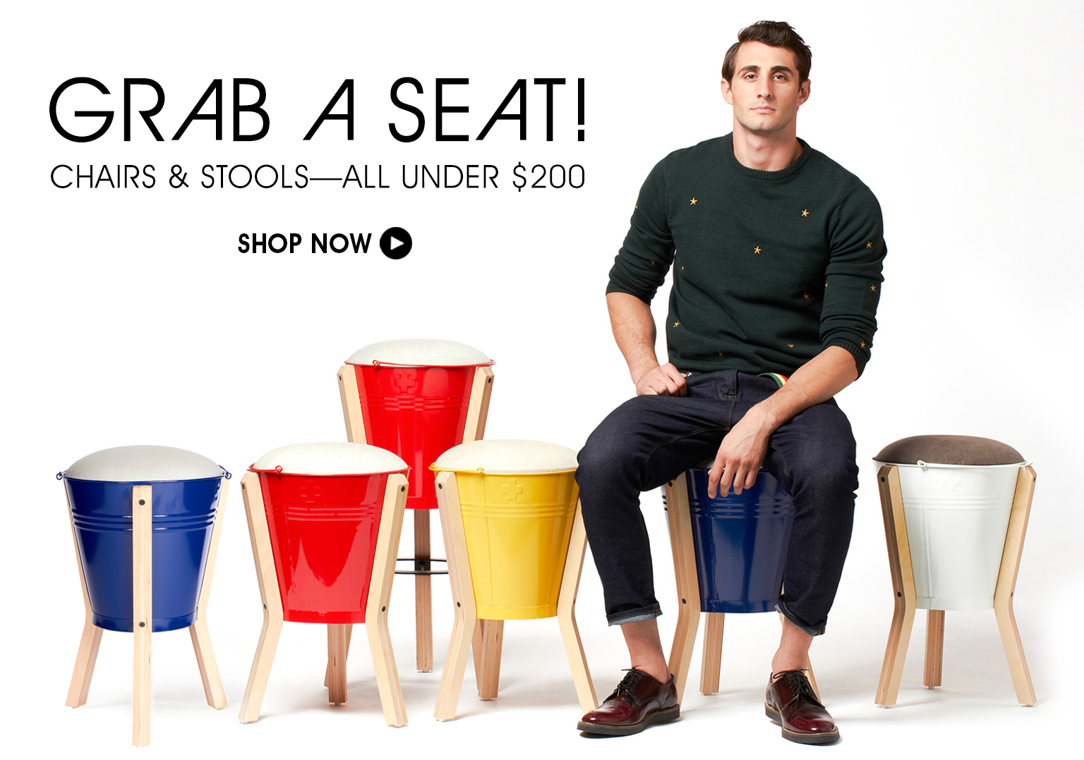 Grab A Seat! Shop Chairs & Stools - All Under $200