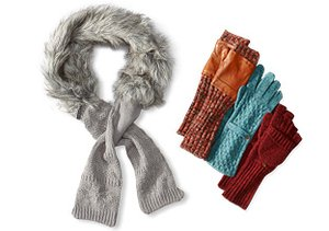 $15 & Up: Cold Weather Accessories